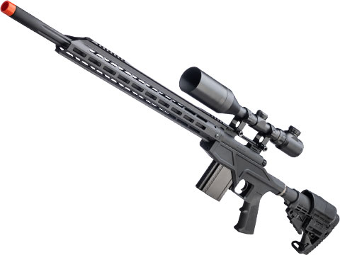 King Arms TWS Gas Powered Airsoft Sniper Rifle w/ CNC M-LOK Handguard (Model: 500 FPS)