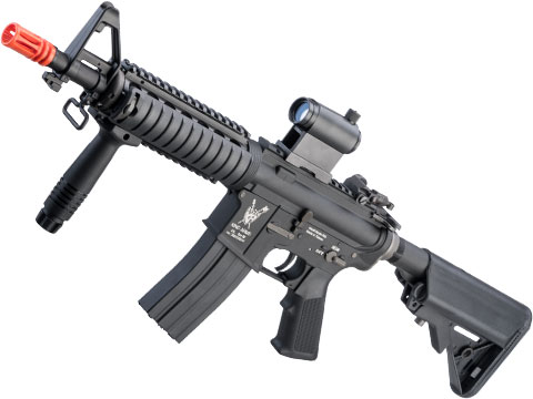 King Arms Full Metal M4 CQB Airsoft AEG Rifle w/ Advanced MOSFET