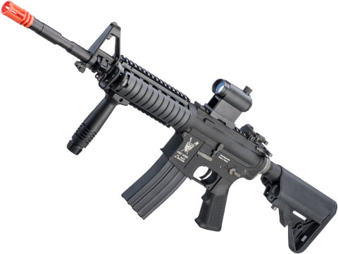 King Arms Full Metal M4A1 RIS Airsoft AEG Rifle w/ Advanced MOSFET