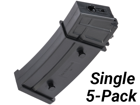 King Arms 95rds Mid-Capacity Magazine for G36 Series AEG (Package: One)