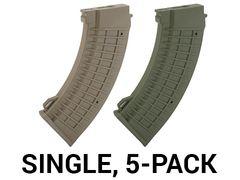 King Arms AK 110 rounds Thermal Style Mid-Cap Magazine