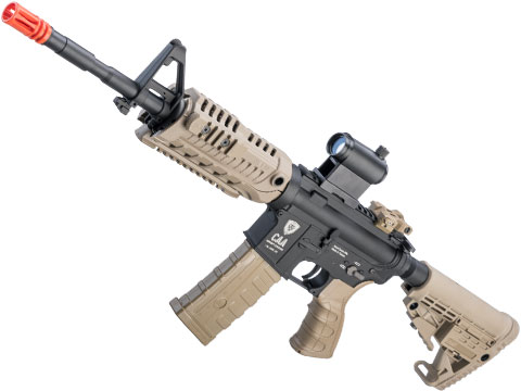 King Arms Command Arms Licensed Full Metal M4-S1 Airsoft AEG Rifle (Model: Dark Earth / Carbine)