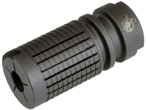 Knights Armament Airsoft Fully Licensed Triple Tap Flash Hider (Type: 14mm- / Negative / CCW)