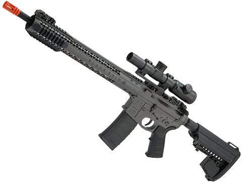 EMG Black Rain Ordnance BRO SPEC15 Licensed AR-15 Airsoft AEG Rifle (Color: Grey / Rifle)