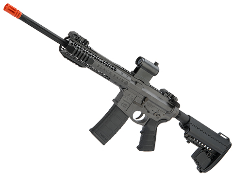 EMG Black Rain Ordnance BRO SPEC15 Licensed AR-15 Airsoft AEG Rifle (Color: Grey / CQB)