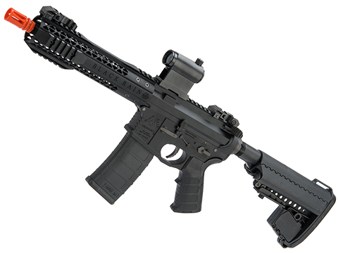 EMG Black Rain Ordnance BRO SPEC15 Licensed AR-15 Airsoft AEG Rifle (Color: Black / Shorty)
