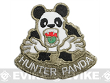 King Arms Hunter Panda Embroidered Patch