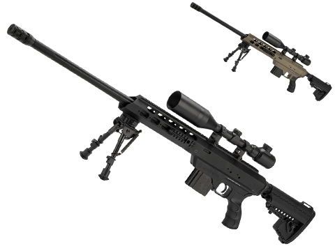 Bone Yard - King Arms MDT TAC21 Gas Powered Airsoft Sniper Rifle (Store Display, Non-Working Or Refurbished Models)