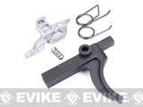 King Arms Trigger with Sear Set for WA / G&P / King Arms M4 Airsoft GBB Gas Blowback Rifles