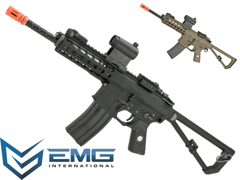 EMG Knights Armament Airsoft PDW M2 Gas Blowback Airsoft Rifle