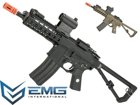 EMG Knights Armament Airsoft PDW M2 Compact Gas Blowback Airsoft Rifle
