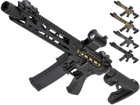 King Arms TWS M4 Ver. 2 Limited Edition Skeletonized Rifle w/ M-LOK Handguard (Color: Black / Carbine)