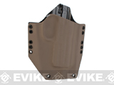 KAOS Concealment Belt / MOLLE Kydex Holster (Model: Cybergun FNX .45 / Dark Earth / Right Hand)