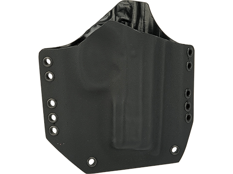KAOS Concealment Belt / MOLLE Kydex Holster (Model: CZ75 Compact / Black / Right Hand)