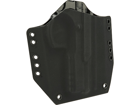 KAOS Concealment Belt / MOLLE Kydex Holster (Model: CZ75 SP01 / Black / Right Hand)