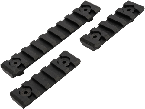 King Arms M-LOK� Polymer Rail Set (Color: Black)