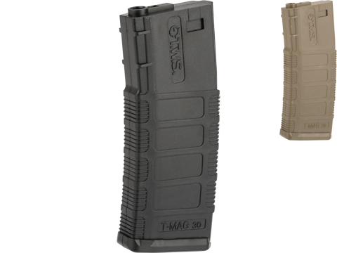 King Arms 140 Round Polymer TWS Magazine for M4/M16 Series Airsoft AEGs (Color: Black)