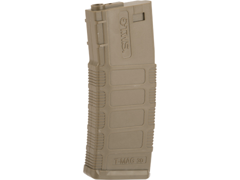 King Arms 140 Round Polymer TWS Magazine for M4/M16 Series Airsoft AEGs (Color: Tan)