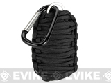 Evike.com Multi-Function Tactical Survival Key Chain Fishing Kit - Black
