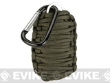 Evike.com Multi-Function Tactical Survival Key Chain Fishing Kit - Olive Drab
