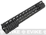 G&P MOTS 12.5 Keymod Rail System for M4 / M16 Series Airsoft Rifles (Color: Black)