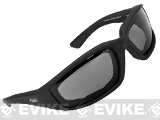 Global Vision Kickback Z A/F Safety Glasses - Smoke