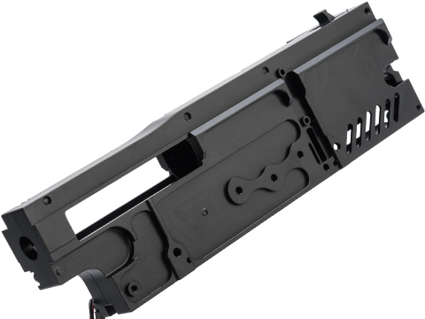 Angel Custom CNC Machined 8mm Gearbox Shell for M249, Mk46, Series AEGs (Model: Shell Only)