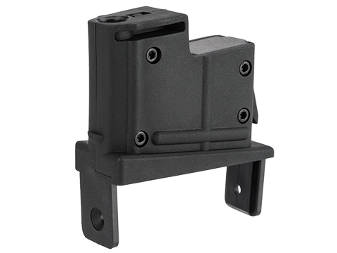 Angel Custom Magazine Adapter for Firestorm / Thunderstorm Airsoft AEG Drum Magazines (Version: AUG / Black)