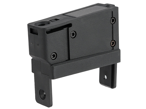 Angel Custom Magazine Adapter for Firestorm / Thunderstorm Airsoft AEG Drum Magazines (Version: M14 / Black)