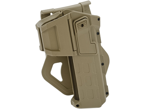 Army Force Tactical 1911 Hard Shell Level 2 Retention Holster (Color: Dark Earth - Paddle)