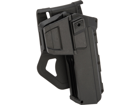 Phantom Gear Tactical Hard Shell Level 2 Retention Holster for Glock G17 (Color: Black - Paddle)