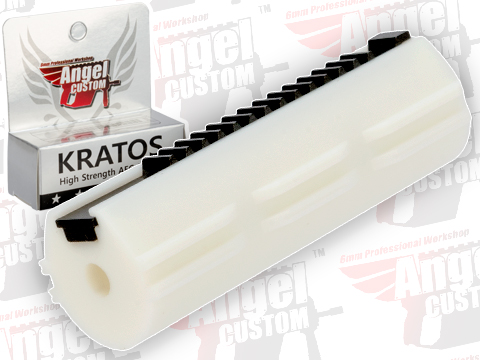Angel Custom KRATOS Ultra High Strength / High Performance Steel Teeth AEG Piston (Version: Full Teeth)