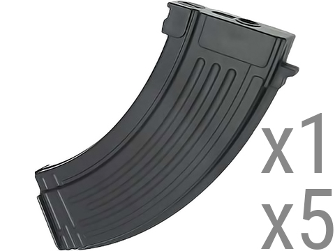 King Arms 47 Style 110rds Mid-Cap Magazine for AK Series Airsoft AEG
