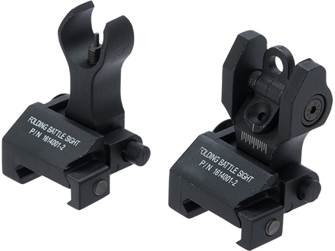 King Arms Folding Battle Sight Set for Airsoft Rifles