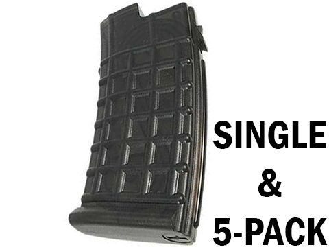 King Arms AUG 110rd Mid Capacity Magazine (Package: Single Magazine)