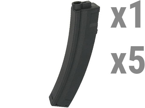 King Arms 100 Round Mid-Cap Magazine for MP5 Series AEGs (Package: Single Magazine )