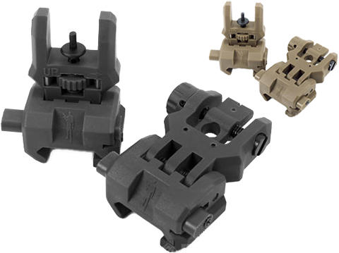 Command Arms (CAA) Licensed Low Profile Flip-up Sights Set