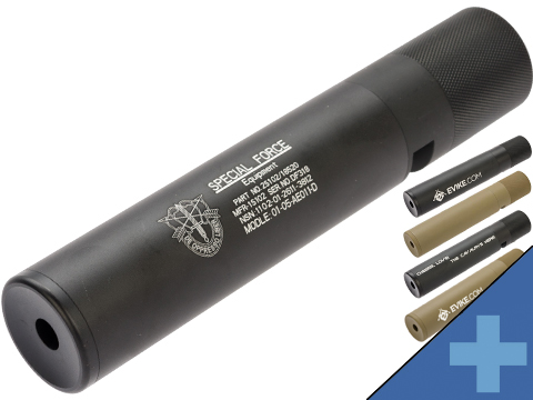 King Arms Eagle Force 195mm x 37mm QD Mock Silencer Tracer Unit