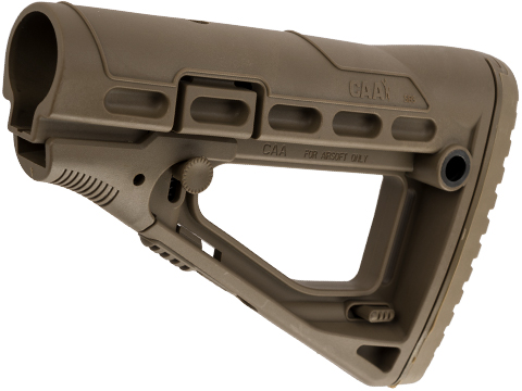Command CAA Airsoft Division SBS Collapsible Stock (Color: Dark Earth)