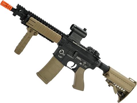 King Arms TWS M4 VIS Airsoft AEG (Color: Desert / CQB)