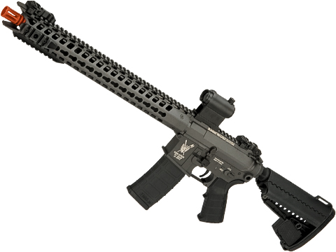 King Arms TWS Dinosuar M4 Airsoft AEG with Keymod Handguard (Color: Grey)