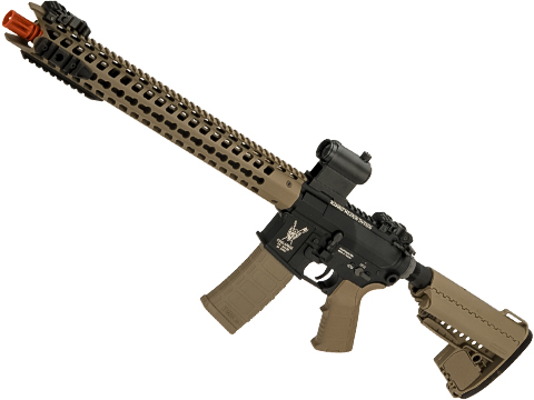King Arms TWS Dinosuar M4 Airsoft AEG with Keymod Handguard (Color: Dark Earth)