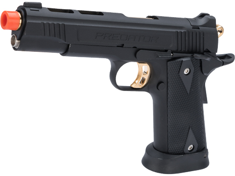 Predator Tactical Iron Shrike Gas Blowback 1911 Pistol by King Arms (Color: Custom I / CO2)