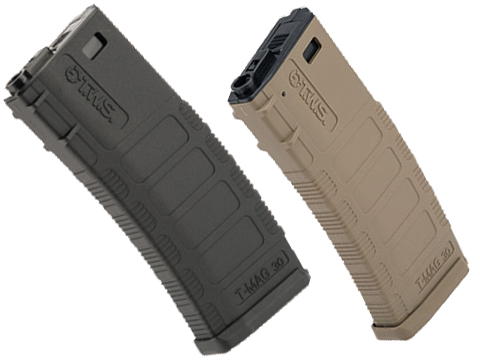 King Arms 370 Round Polymer TWS Magazine for M4/M16 Series Airsoft AEGs (Color: Black)