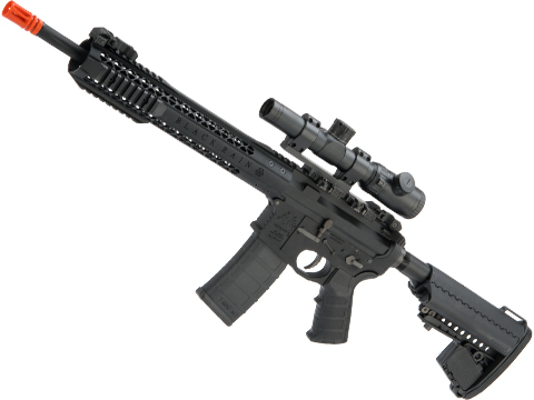 EMG Black Rain Ordnance BRO SPEC15 Licensed AR-15 Airsoft AEG Rifle (Color: Black / Carbine)