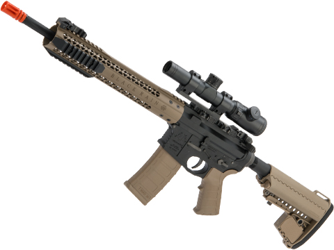 EMG Black Rain Ordnance BRO SPEC15 Licensed AR-15 Airsoft AEG Rifle (Color: Dark Earth / Carbine)