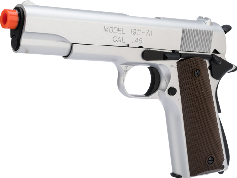 King Arms Gas Blowback 1911A1 Pistol (Color: Silver)