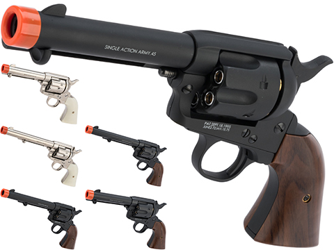 Bone Yard - King Arms SAA .45 Peacemaker Gas Powered Revolver (Store Display, Non-Working Or Refurbished Models)
