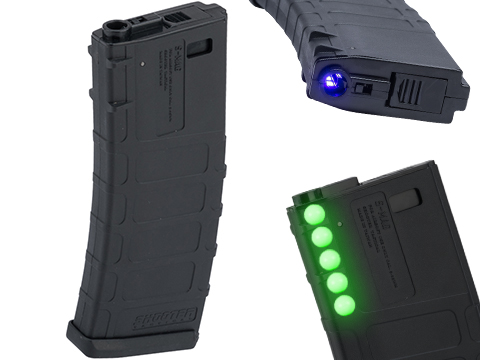 King Arms 300 Round Luminous Tracer BB Ready Airsoft AEG Magazine