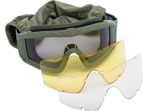 Matrix Tactical Systems Ultimate Protective Airsoft Goggles (Color: OD)